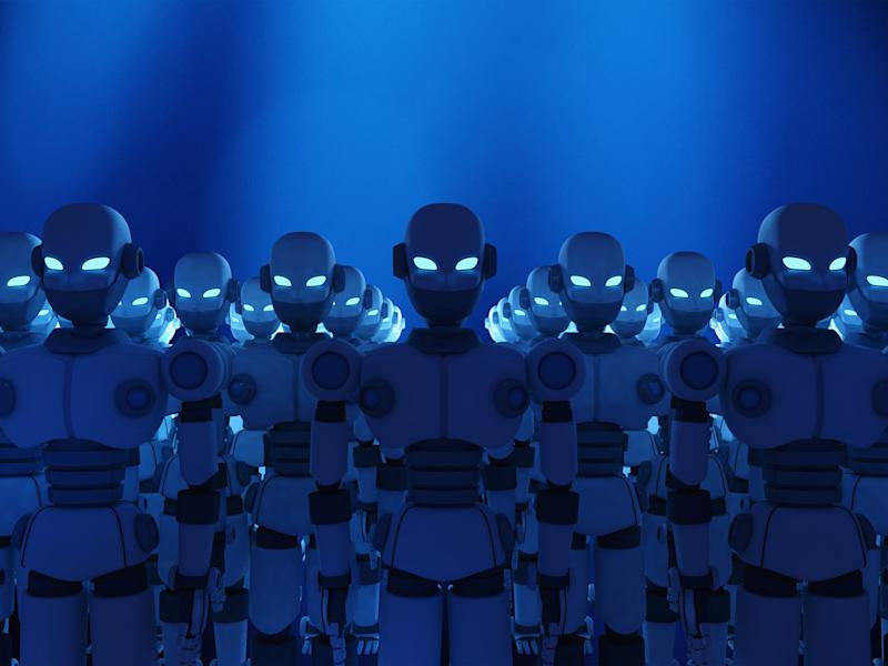 Killer robots may seem new, but they've been around for a long time: Getty/iStock