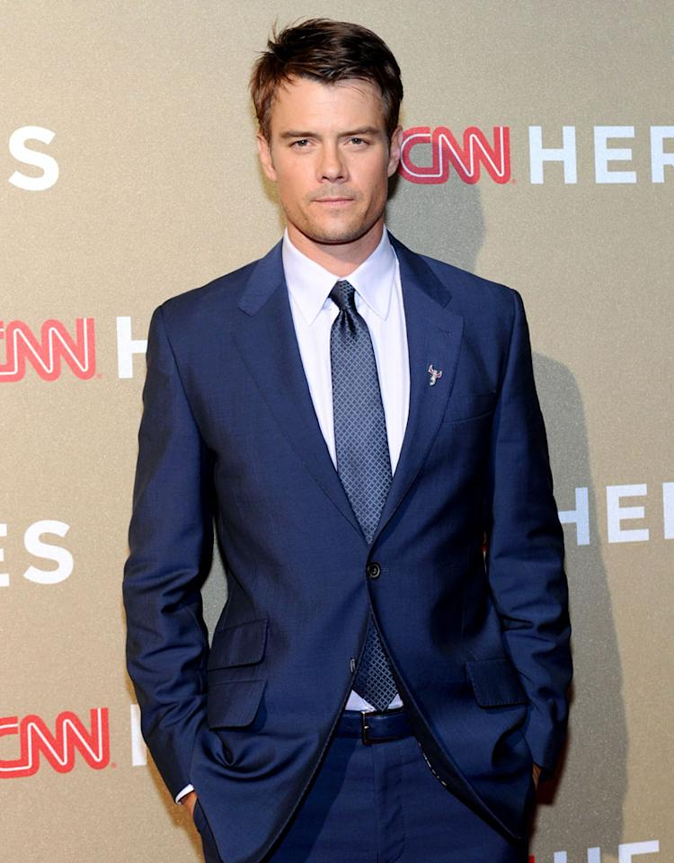 Actor Josh Duhamel attends the CNN Heroes: An All Star Tribute rehearsals at The Shrine Auditorium on December 1, 2012 in Los Angeles, California. 23046_005_SK_0180.JPG *** Local Caption *** Josh Duhamel