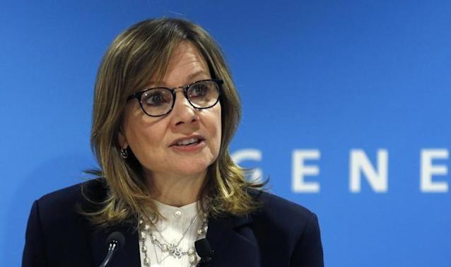 General Motors Chairman and CEO Mary Barra REUTERS/Rebecca Cook