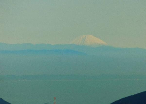 Mt. Fuji seen from Mt. Miune