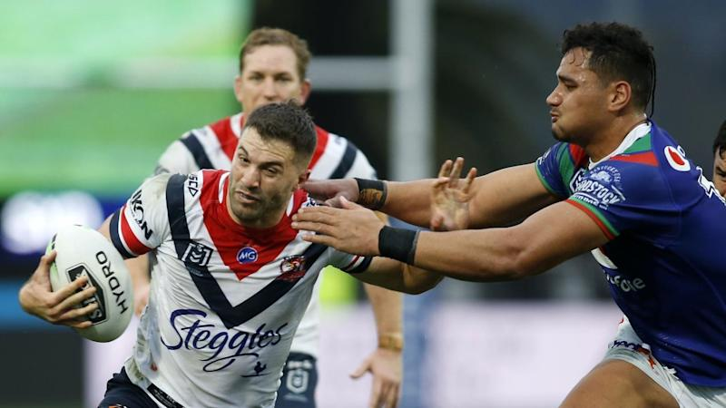 NRL WARRIORS ROOSTERS