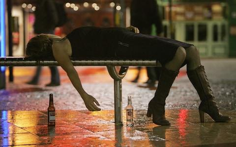 Binge drinking could cause DNA damage  - Credit:  Matt Cardy Getty