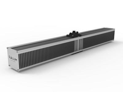 Sollum is proud to introduce the SF05A, the latest generation of its smart LED fixture: an AI-powered grow light that remains light years ahead of other technologies. Connected Power LED by nature. (CNW Group/Sollum Technologies)