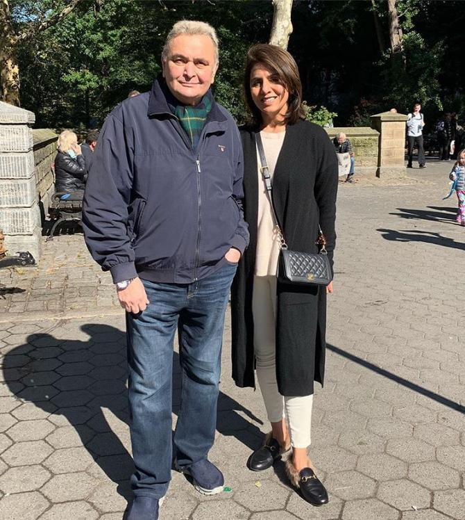 Rishi Kapoor is cancer-free
