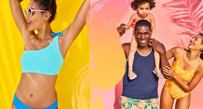 d747c3d29cd Old Navy sale: Swimwear for the whole family