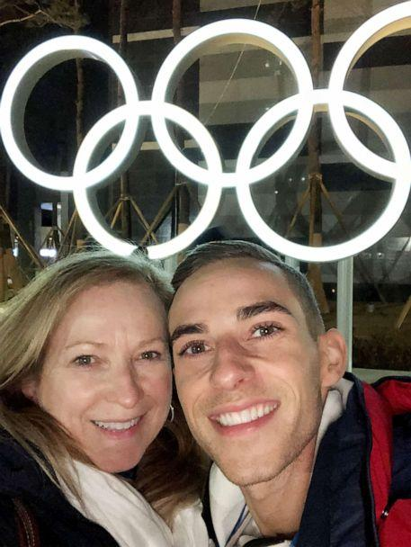 PHOTO: Kelly Rippon and Adam Rippon at the 2018 Winter Olympics in Pyeongchang, South Korea. (Courtesy of Kelly Rippon)