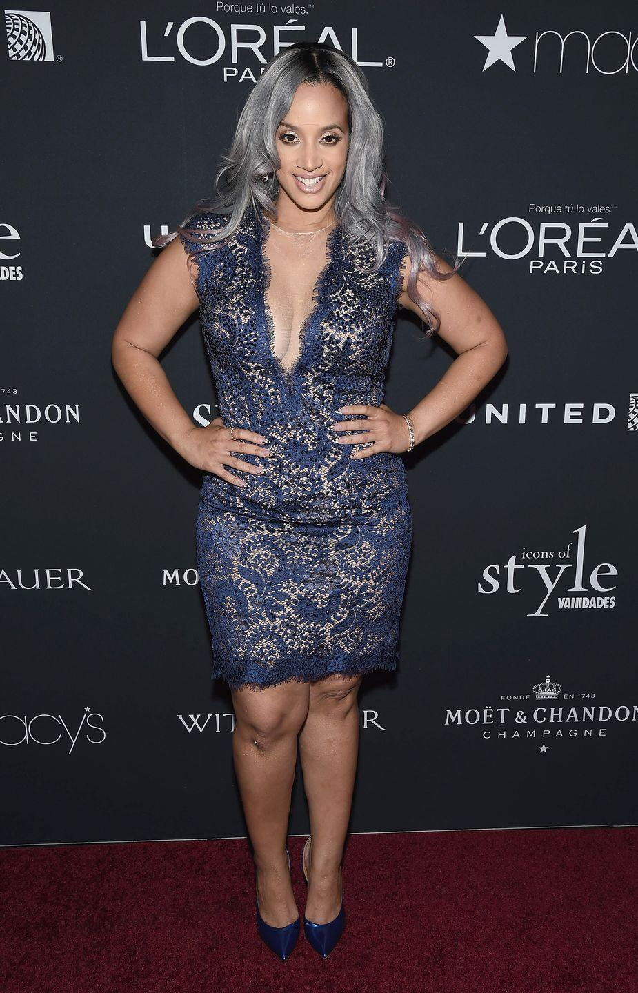 """<p>""""Gray hair was one of the hottest trends for 2020,"""" says de Marco. """"During quarantine many celebs let their hair go gray—but even natural gray can be improved."""" This fall, you'll see tons of middle gray tones—think the color of steel, as modeled on Dascha Polanco—from root to tip, especially on long hair. </p>"""