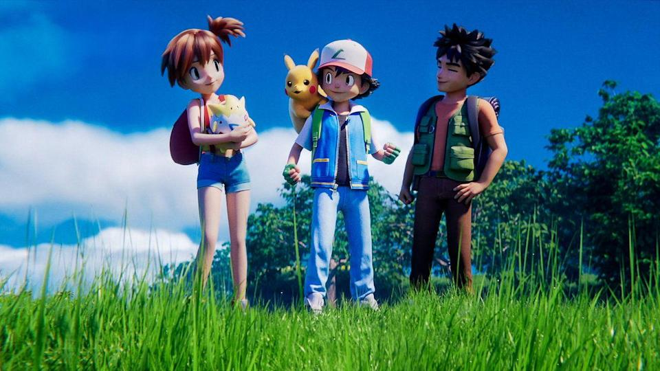 """<p>If you loved the original Pokémon film from 1998, this CGI remake of <em><a href=""""https://www.amazon.com/gp/video/detail/B01AQM42LE/ref=atv_dl_rdr?tag=syn-yahoo-20&ascsubtag=%5Bartid%7C10055.g.23406794%5Bsrc%7Cyahoo-us"""" rel=""""nofollow noopener"""" target=""""_blank"""" data-ylk=""""slk:Pokémon: The First Movie"""" class=""""link rapid-noclick-resp"""">Pokémon: The First Movie</a> </em>is an updated version of the iconic movie from your childhood — and will have you and your kids falling in love with Pokémon even more. <br></p><p><a class=""""link rapid-noclick-resp"""" href=""""https://www.netflix.com/title/81223075"""" rel=""""nofollow noopener"""" target=""""_blank"""" data-ylk=""""slk:STREAM NOW"""">STREAM NOW</a></p>"""