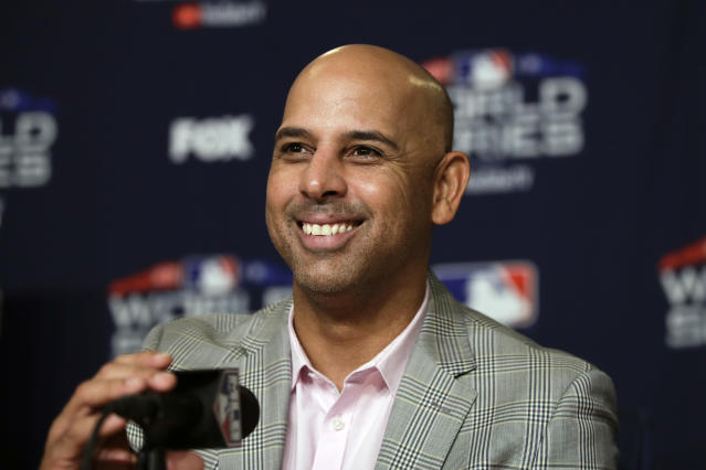 Alex Cora thinks he can do better in 2019. (AP)