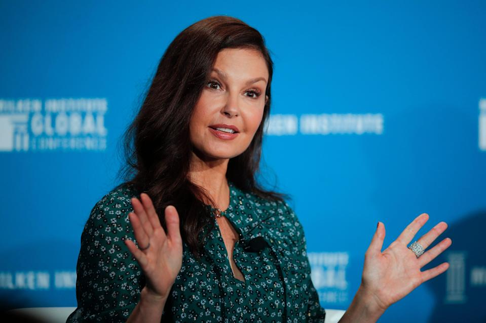 Ashley Judd is opening up about herharrowing experience aftershatteringher leg in an African rainforest.