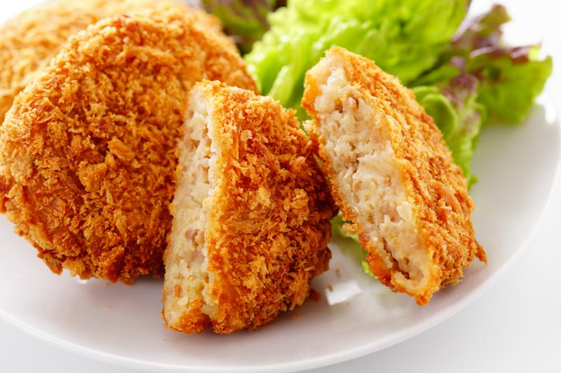 Japanese croquette. Japanese food.