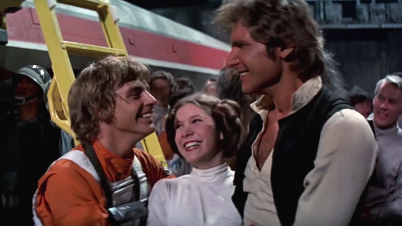 "Mark Hamill just shared a ""Star Wars"" picture you were never supposed to see"