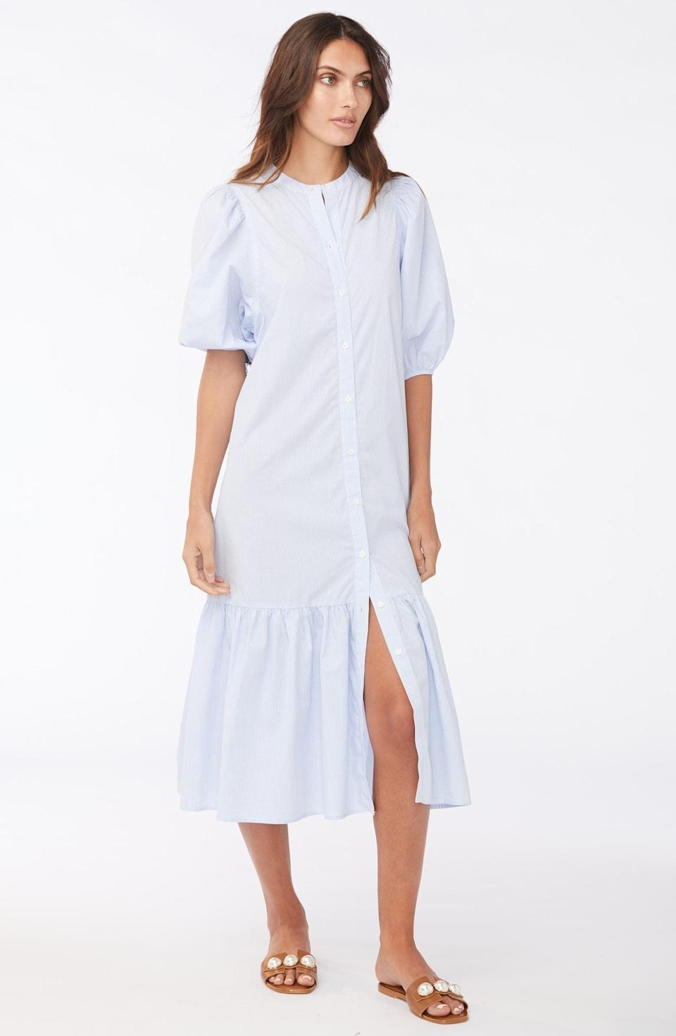<p>You can't go wrong with this stylish <span>Sundays Floria Shift Dress</span> ($240).</p>