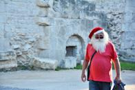 """<p>Santa isn't always dressed in that warm outfit of his! Sometimes, Mr. Claus has to slip into some casual attire.</p> <p><a href=""""http://media1.popsugar-assets.com/files/2020/12/21/843/n/1922507/52cc9864823bfd87_pexels-miroslav-stas_evskij-5046377/i/Download-Zoom-background-image-here.jpg"""" class=""""link rapid-noclick-resp"""" rel=""""nofollow noopener"""" target=""""_blank"""" data-ylk=""""slk:Download Zoom background image here."""">Download Zoom background image here.</a> </p>"""