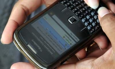 BlackBerry Users Hit By New System Failure