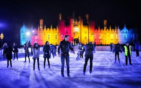 It's possible to skate in the grounds of Henry VIII's former abode - Credit: GETTY