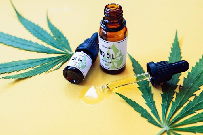CBD oil is derived from industrial hemp, and contains little or no THC, the active drug found in marijuana. It is also legal in Florida, where Hester Burkhalter was arrested.