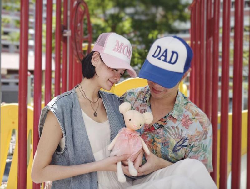 Actress-model Sheila Sim and her husband announced on 27 April on Instagram that they are expecting a baby girl. (Photo: Sheila Sim/Instagram)