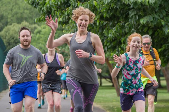 More than 600,000 women who have registered with parkrun are yet to take part (parkrun/handout)