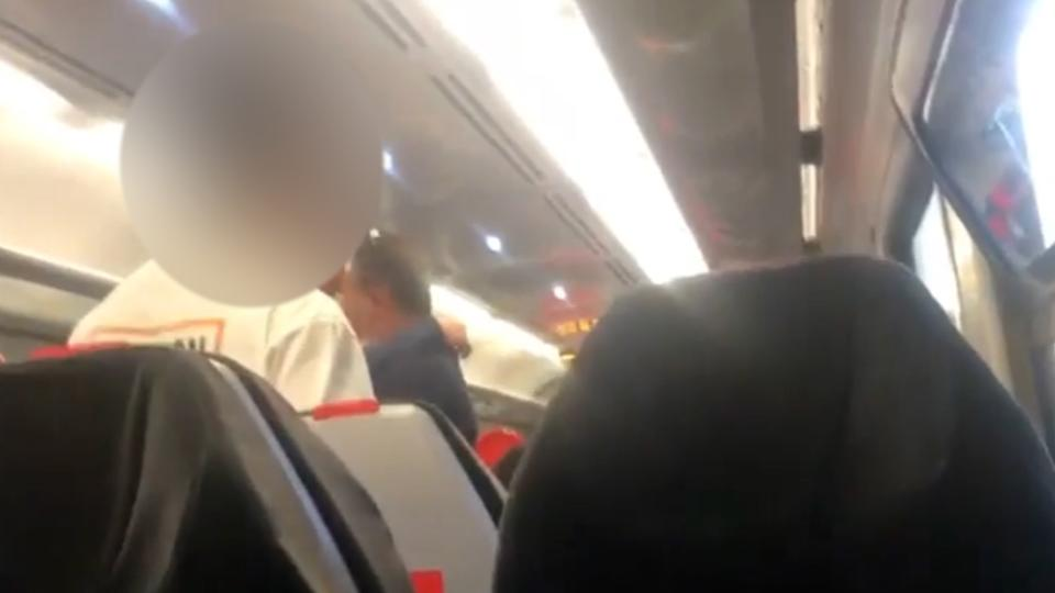 Rosedona Williams filmed the group who she says racially abused her throughout her 20 minute train journey home (swns)