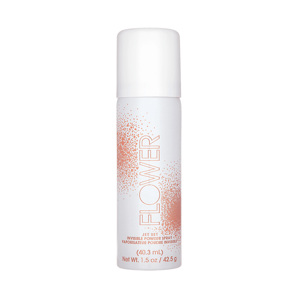 <p>If setting powder isn't your jam, then the <span>Flower Beauty Jet Set Invisible Powder Spray</span> ($14) may be. Even the most devoted bakers may ditch that step for this powder-spray hybrid, which mattifies and blurs skin while also improving radiance. Bonus: the translucent spray sinks into skin immediately, so every skin tone can benefit from its power.</p>