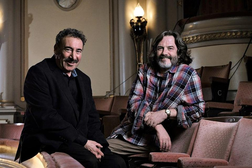 Anthony Sher, left, and Gregory Doran, right, of the Royal Shakespeare Company  (Rebecca Reid)