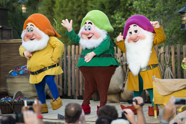"""Apparently """"Happy""""is only acceptable as a name for one of the Seven Dwarves. (Handout via Getty Images)"""