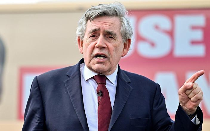 Gordon Brown said: 'We'll develop all the arguments that will win that referendum' - Jeff J Mitchell/Getty Images Europe