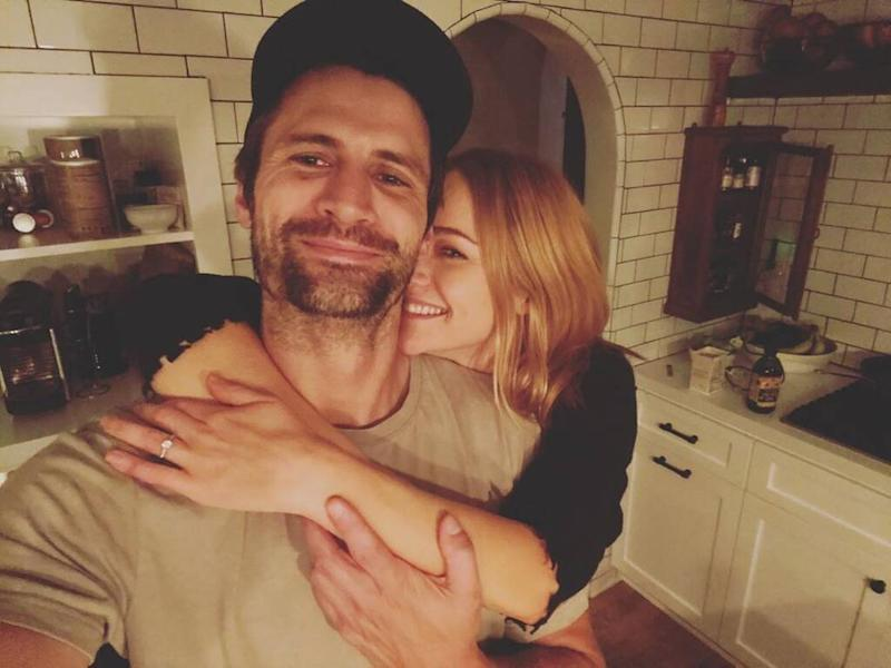 James Lafferty and Alexandra Park engaged