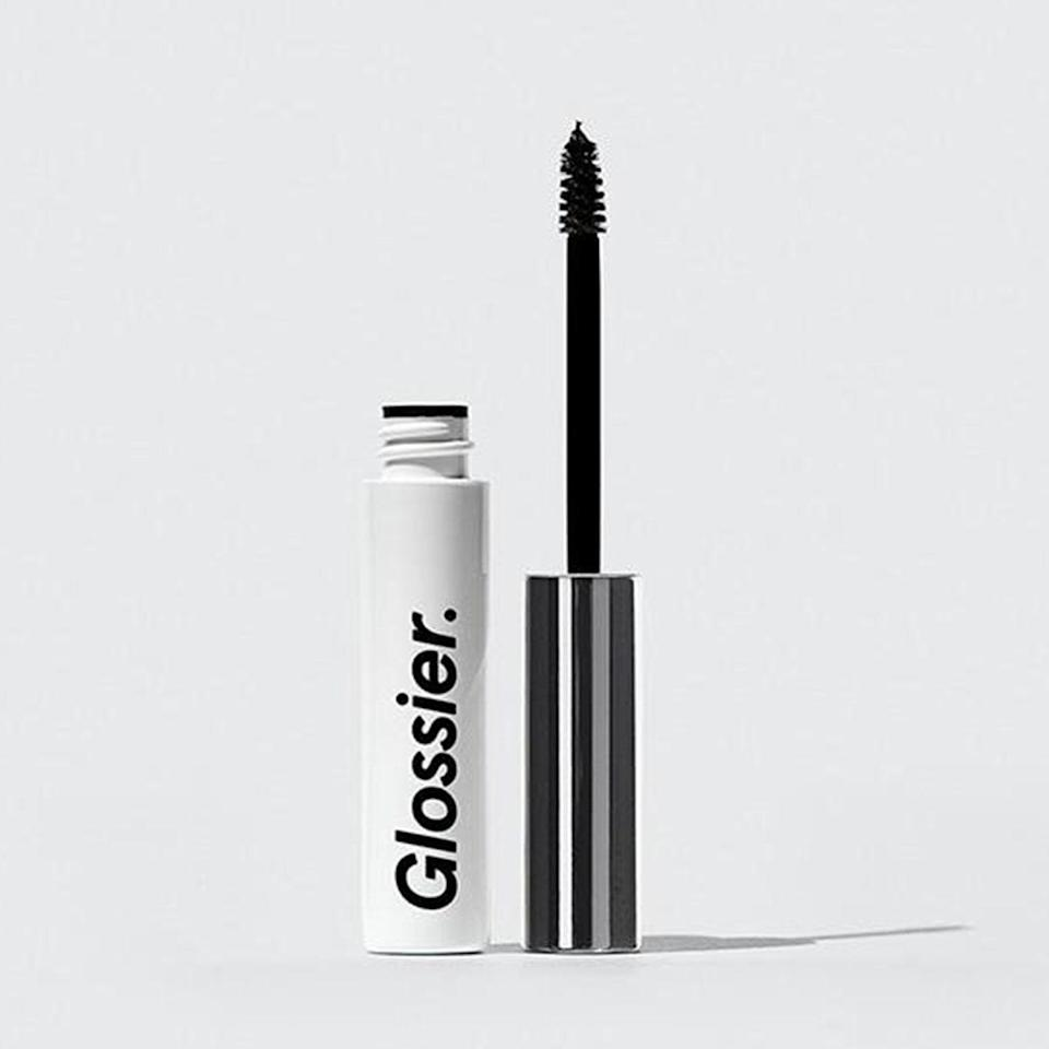 """There's a reason this product is Glossier's top seller (and inspiration for so many copycats): It's awesome. I love everything about it—its tiny tube, its teeny brush that separates and grooms so well, its super-sticky, nonflaky, semiwaxy formula that holds hairs in place for days. <em>—L.S.</em> $16, Glossier. <a href=""""https://glossier.79ic8e.net/Z1jM0"""" rel=""""nofollow noopener"""" target=""""_blank"""" data-ylk=""""slk:Get it now!"""" class=""""link rapid-noclick-resp"""">Get it now!</a>"""