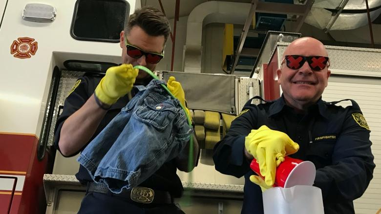 Calgary firefighters get hands-on lesson on living with dementia