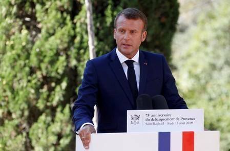 Macron says tech giants enjoy 'permanent tax haven status'