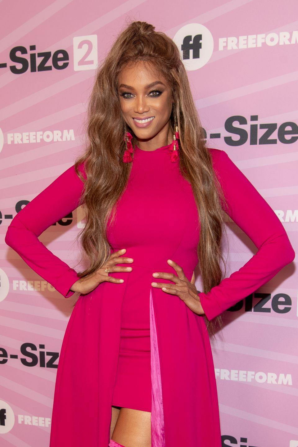"""<p>In her memoir, <em>Perfect Is Boring</em>, Tyra shared that she got a nose job early in her career. Although she did have bones in her nose that were """"growing and itching,"""" the <em>America's Next Top Model </em>host admitted that she could breathe fine and just wanted to add cosmetic surgery. <br></p><p>""""Natural beauty is unfair,"""" she told <em><a href=""""https://people.com/tv/tyra-banks-nose-job/?"""" rel=""""nofollow noopener"""" target=""""_blank"""" data-ylk=""""slk:PEOPLE"""" class=""""link rapid-noclick-resp"""">PEOPLE</a></em>. """"I get really uncomfortable when women who are these natural beauties judge anybody who does anything to themselves.""""</p>"""