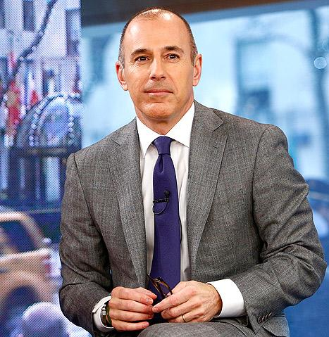 """Matt Lauer Nixed Potential Female Today Show Runners, Compared Them to """"Lilith Fair"""""""