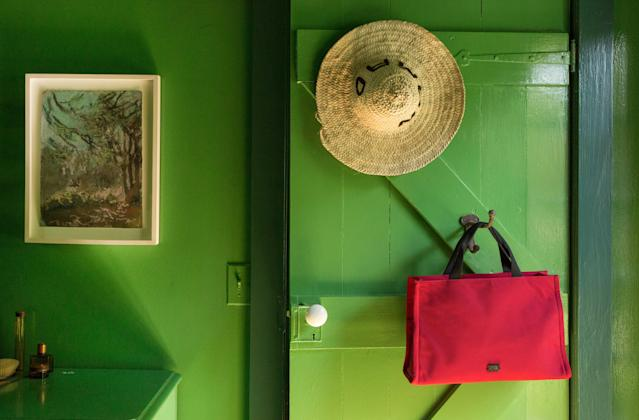The Kate bag by Frances Valentine in red (Photo: Frances Valentine)