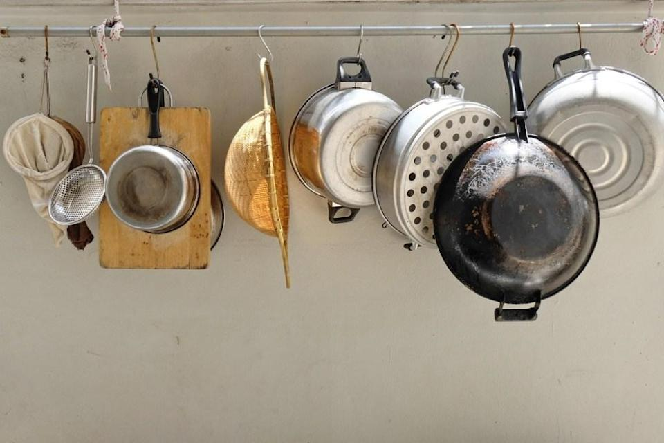 <span>For more storage options, don't forget to maximize your vertical areas like hanging hooks on the backs of doors and walls by main doors or adding storage solutions like shelving and multi-prong hooks or big racks in closets. These will get stuff off of the floor and make items more accessible.</span>