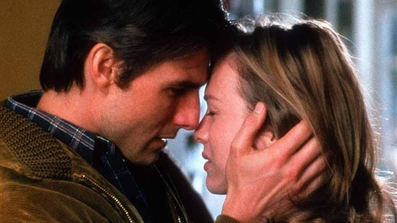 Tom Cruise and Rene Zellweger in Jerry Maguire