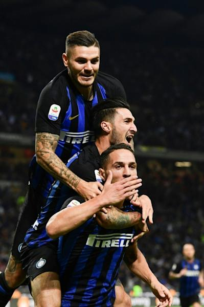 Inter Milan star Mauro Icardi was rested before next week's Champions League game at PSV Eindhoven