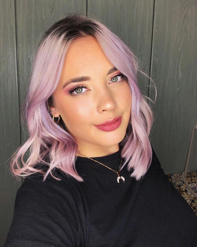 """<p>Keep your roots dark for a less cute and more edgy pastel look.</p><p><a href=""""https://www.instagram.com/p/B2j6bB5HnZI/"""" rel=""""nofollow noopener"""" target=""""_blank"""" data-ylk=""""slk:See the original post on Instagram"""" class=""""link rapid-noclick-resp"""">See the original post on Instagram</a></p>"""