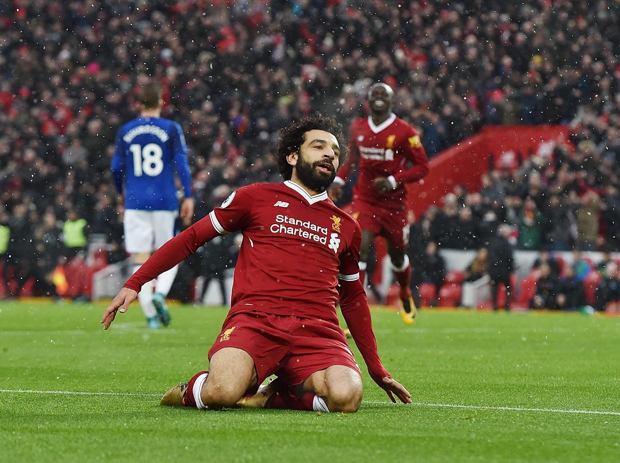 Liverpool forward Mohamed Salah named BBC African Footballer of the Year