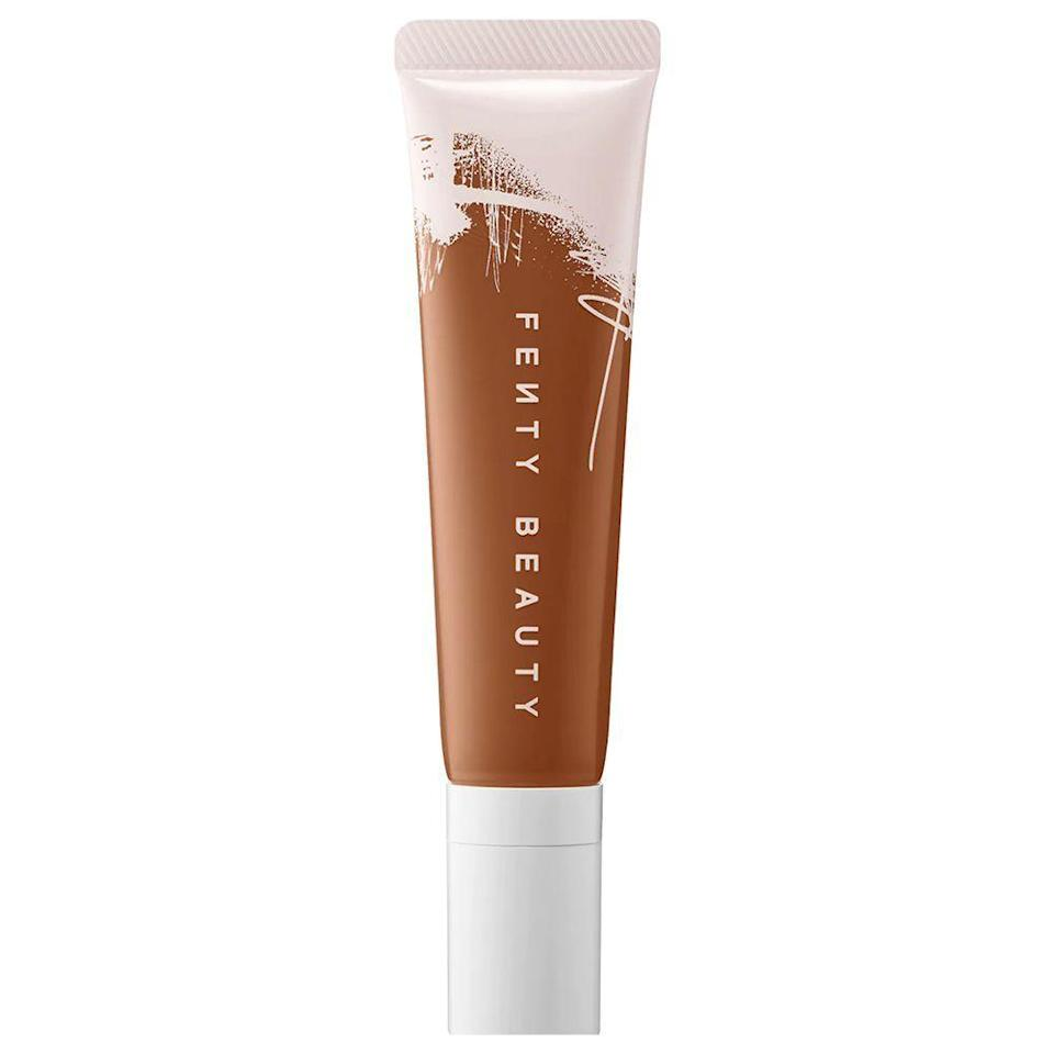 """<p><strong>Fenty Beauty</strong></p><p>sephora.com</p><p><strong>$36.00</strong></p><p><a href=""""https://go.redirectingat.com?id=74968X1596630&url=https%3A%2F%2Fwww.sephora.com%2Fproduct%2Fpro-filt-r-hydrating-longwear-foundation-P448702&sref=https%3A%2F%2Fwww.bestproducts.com%2Fbeauty%2Fg37048952%2Fdewy-foundations%2F"""" rel=""""nofollow noopener"""" target=""""_blank"""" data-ylk=""""slk:Shop Now"""" class=""""link rapid-noclick-resp"""">Shop Now</a></p><p>Rihanna's beloved beauty brand broke barriers with its first-ever product, their original 50-shade <a href=""""https://go.redirectingat.com?id=74968X1596630&url=https%3A%2F%2Fwww.sephora.com%2Fproduct%2Fpro-filtr-soft-matte-longwear-foundation-P87985432%3Ficid2%3Dskugrid%253Ap87985432&sref=https%3A%2F%2Fwww.bestproducts.com%2Fbeauty%2Fg37048952%2Fdewy-foundations%2F"""" rel=""""nofollow noopener"""" target=""""_blank"""" data-ylk=""""slk:matte foundation"""" class=""""link rapid-noclick-resp"""">matte foundation</a> that raised the shade range bar for beauty brands all over the globe, which became a beauty phenomena known as the <a href=""""https://wwd.com/fashion-news/fashion-scoops/how-rihanna-transformed-fashion-beauty-industries-fenty-1203494894/"""" rel=""""nofollow noopener"""" target=""""_blank"""" data-ylk=""""slk:Fenty Effect"""" class=""""link rapid-noclick-resp"""">Fenty Effect</a>.</p><p>But Bad Gal RiRi knows that we all wanted a dewy option, and boy, did she provide. This hydrating foundation comes in a whopping 50 truly diverse shades, blowing their dewy competition straight out of the water. Its medium-to-full-coverage formula is also infused with grape seed oil to keep your pores moisturized for hours on end.</p>"""