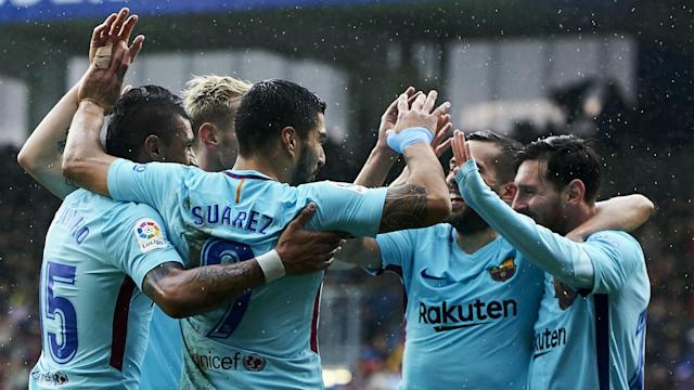 The Blaugrana have now gone 31 games without tasting defeat in the league, a run that puts them on a par with a memorable team from the recent past
