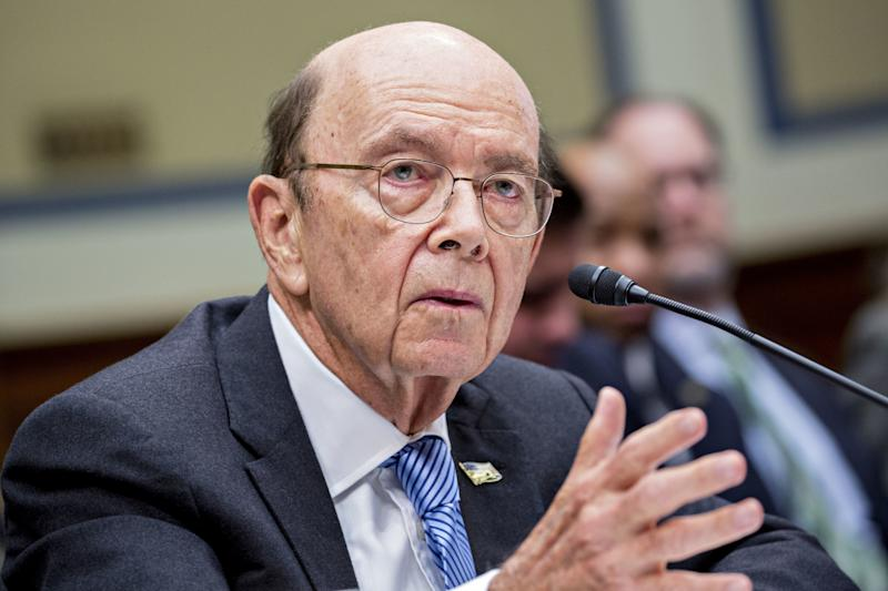 Commerce Secretary Wilbur Ross said he decided to add a citizenship question to the census after the Justice Department requested it. But there's clear evidence he wanted to add the question long before the request. (Bloomberg via Getty Images)