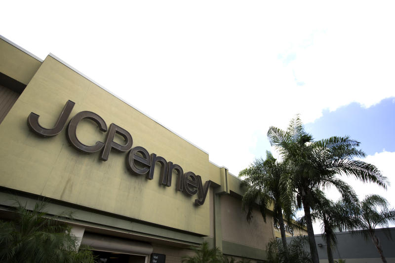 Penney's 2Q results show some signs of life