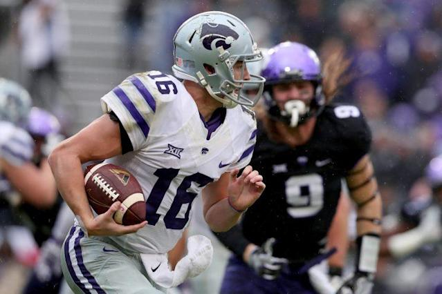 "<a class=""link rapid-noclick-resp"" href=""/ncaaf/players/228393/"" data-ylk=""slk:Jesse Ertz"">Jesse Ertz</a> threw for over 1,000 yards and ran for over 1,000 yards in 2016. (Getty)"