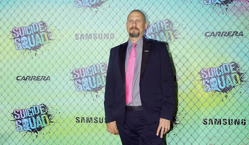 "NEW YORK, NY - AUGUST 01: Director David Ayer attends the ""Suicide Squad"" world premiere at The Beacon Theatre on August 1, 2016 in New York City. (Photo by Jim Spellman/WireImage)"