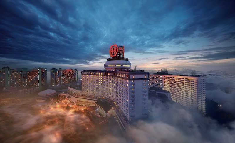 Genting Highlands, among the go-to spots for New Year's countdown events is also shelving fireworks displays. — Picture courtesy of Genting Malaysia