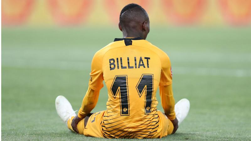 It makes no sense to criticise Billiat right now - Kaizer Chiefs coach Middendorp