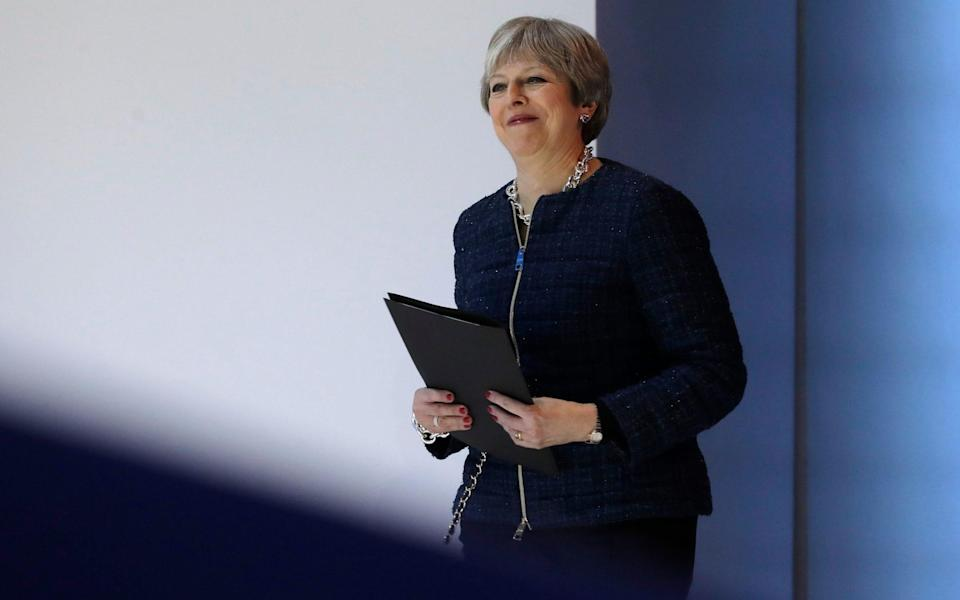 The Prime Minister used a keynote speech in 2016 to pledge that employees will join directors in boardrooms and be given a say in how businesses operate. - AP