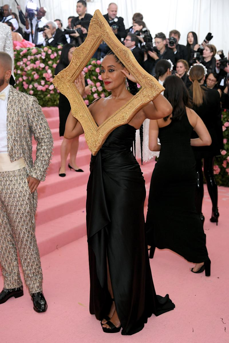 244d84217ee5 There's a Meaning Behind Tracee Ellis Ross's Met Gala Picture Frame